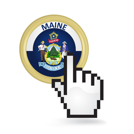Maine Button Click