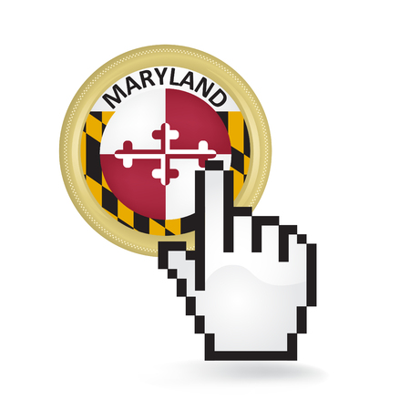 Maryland Button Click