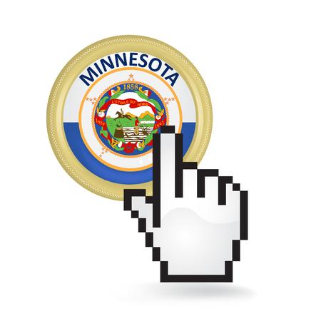 Minnesota Button Click