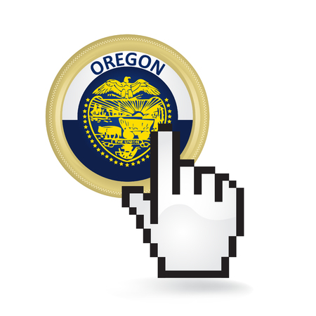 Oregon Button Click