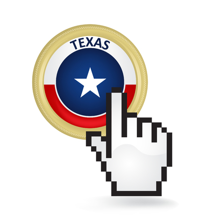 Texas Button Click