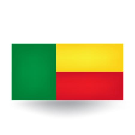 benin: Benin Flag Illustration