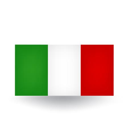 Italy Flag Vetores