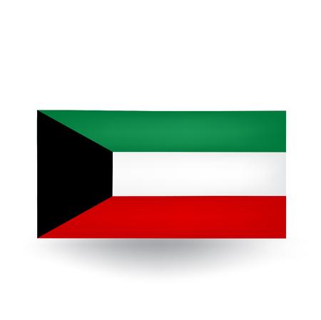 kuwait: Kuwait Flag Illustration