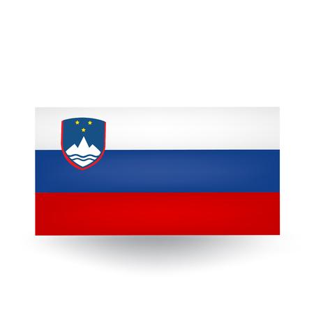 슬로베니아 깃발 일러스트