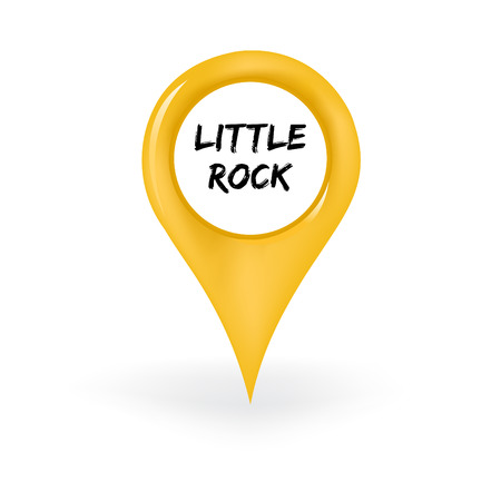advertise with us: Little Rock Location Illustration