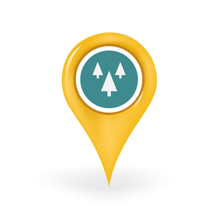 Forest Location Illustration