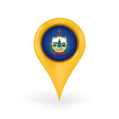 Location Vermont  イラスト・ベクター素材