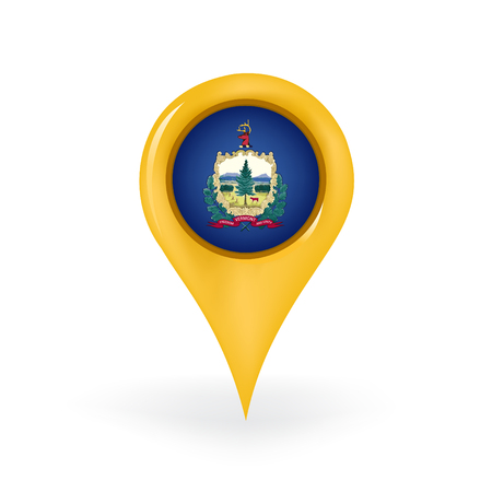 Location Vermont Ilustrace