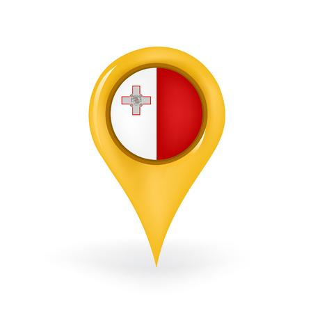 maltese map: Location Malta