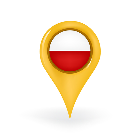 Location Poland Illustration