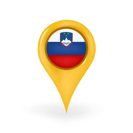 Location Slovenia Illustration