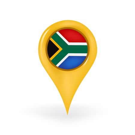Location South Africa Stock Vector - 87346109