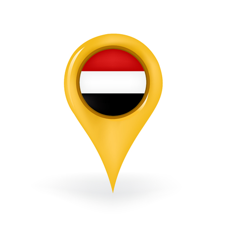 yemen: Location Yemen Illustration