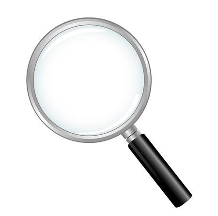 Magnifying Glass icon Ilustração Vetorial
