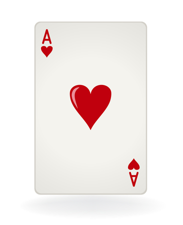 Ace of Hearts Illustration