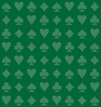 Card Suits Seamless Background Illusztráció