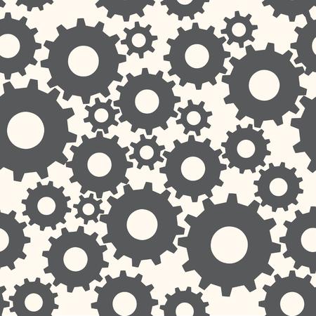 Seamless Cog Wheel Pattern