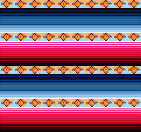 Seamless Mexican Blanket Pattern
