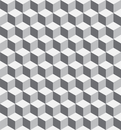 Seamless 3D Cubic Geometric Pattern