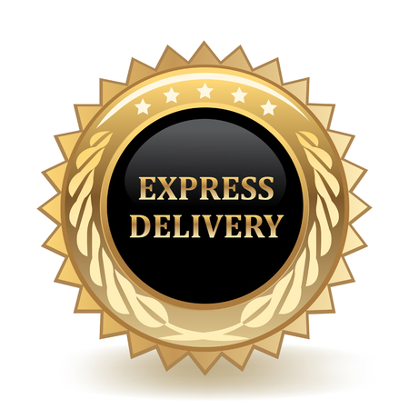 Express Delivery Gold Badge