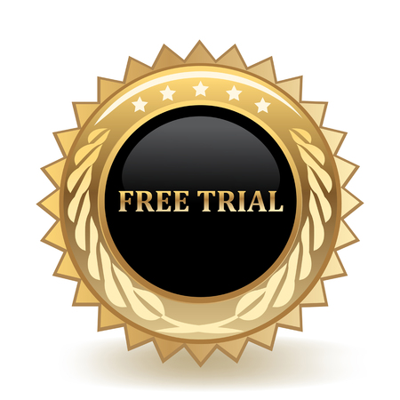Free Trial Gold Badge