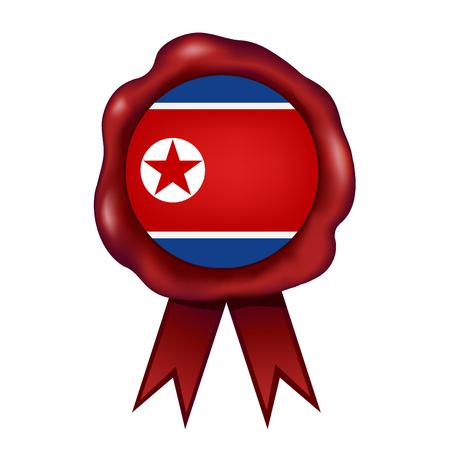 Flag Of North Korea Wax Seal