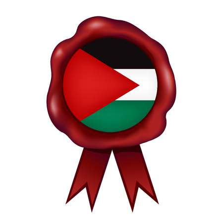 Flag Of Palestine Wax Seal
