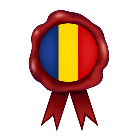 Flag Of Romania Wax Seal