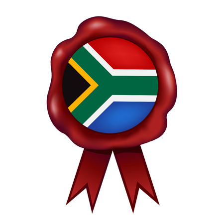 Flag Of South Africa Wax Seal