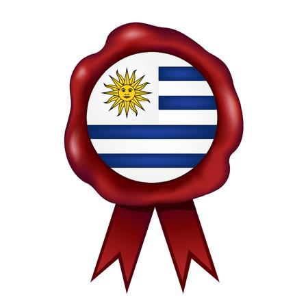 Flag Of Uruguay Wax Seal