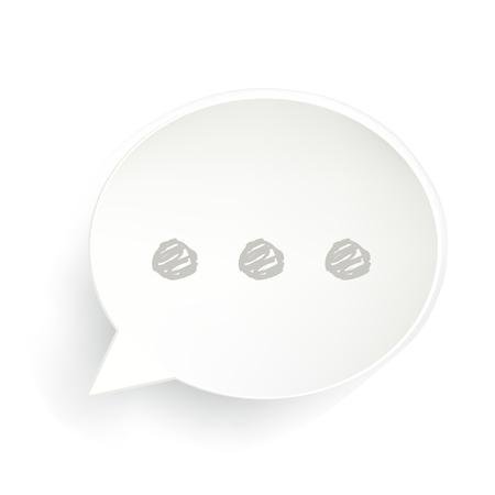 Ellipsis Speech Bubble