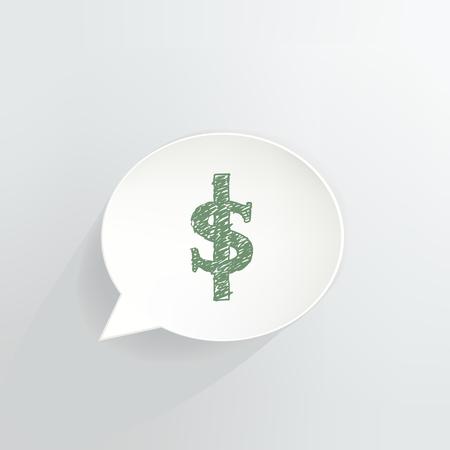 Dollar Sign Speech Bubble