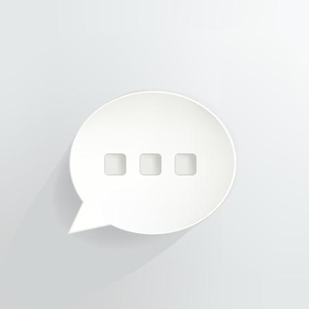 Chat Speech Bubble Ilustrace