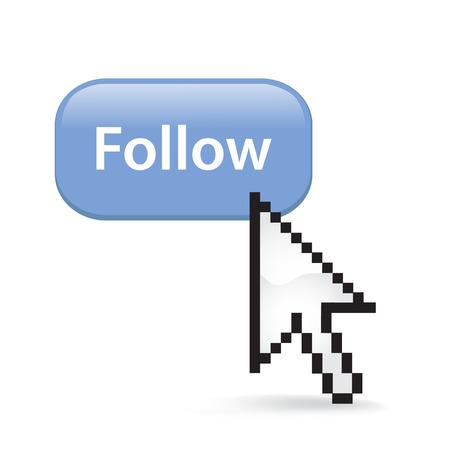 Follow button cursor arrow.