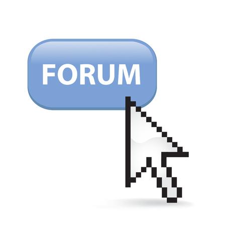 Forum Button Cursor Arrow