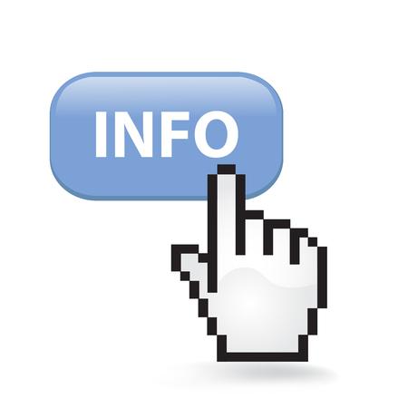Info Button Cursor Hand