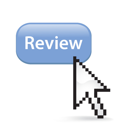 Review button cursor arrow.