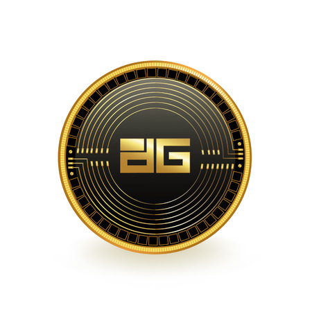 DigixDao Cryptocurrency Coin Isolated