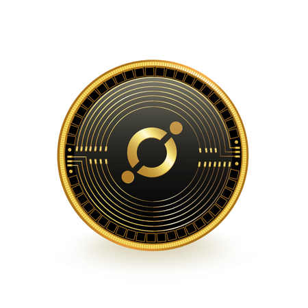 Icon Cryptocurrency Coin Isolated