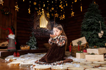 A Christmas tale for a little girl. Unforgettable childhood memories. A girl makes a wish on Christmas night.