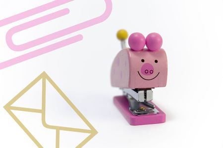 stitching machine: Small pig. Its your friend in office