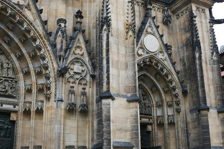 vitus: Saint Vitus Cathedral Stock Photo