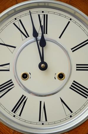 new age: vintage clock Stock Photo
