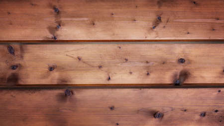 Old light wooden board with horizontal stripes. High quality photo
