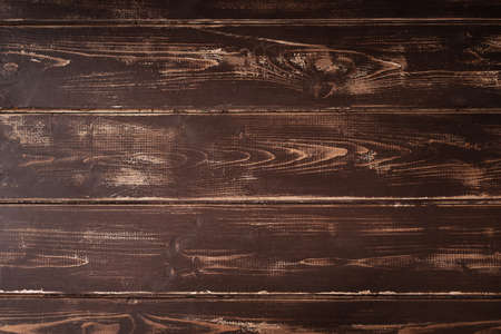 Old wooden plank with horizontal stripes. High quality photo