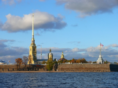 Peter and Paul Fortress in Saint Petersburg photo