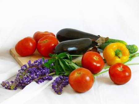 Vegetable still life Stock Photo - 11576045