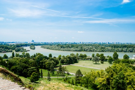 Belgrade Serbia View from Old Castle