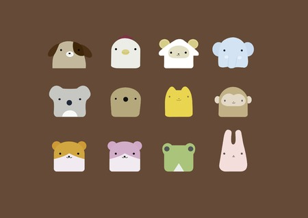 mandrill: animale icona
